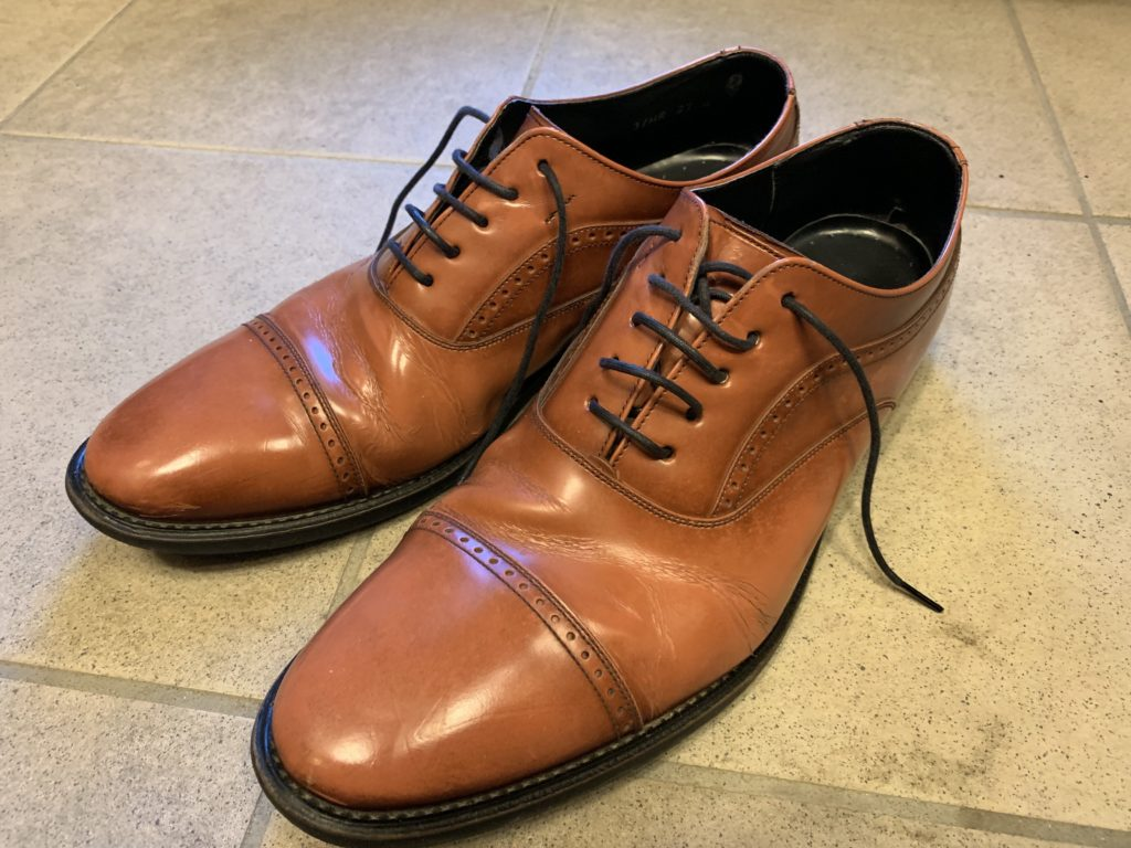 Regal リーガル 本革 革靴 エイジング