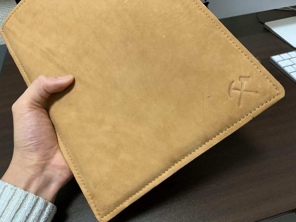 MacBook レザースリーブ 本革 保護ケース